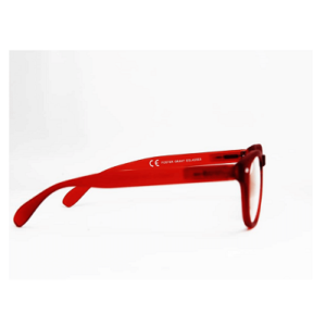 oster grant e glasses red side view