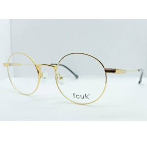 Gold round frame by Fcuk
