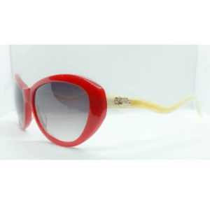 Women butterfly sunglasses Red/ white