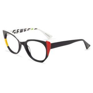 Stock eyeglasses